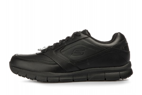 SKECHERS WORK RELAXED FIT - NAMPA SR 77156-BLK Μαύρο
