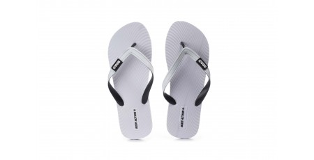 BODY ACTION MEN'S FLIP FLOPS 093007-01-02 White
