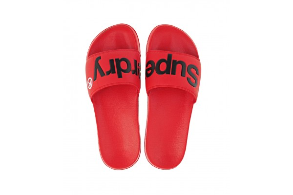 SUPERDRY CLASSIC SUPERDRY POOL SLIDE MF310008A-OMG Red