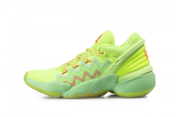 adidas Performance D.O.N. ISSUE #2 MARVEL SPIDEY SENSE FW8747 Lime