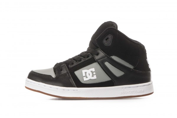 DC PURE HIGH-TOP ADBS100242-BLG Μαύρο