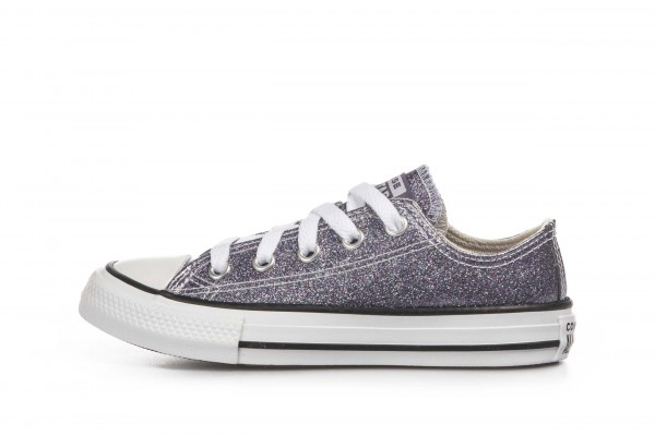 CONVERSE COATED GLITTER CHUCK TAYLOR ALL STAR 668468C Purple