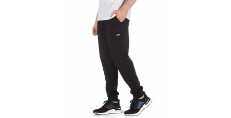 BODY ACTION MEN'S SPORT STYLE SWEATPANTS 023004-01-01 Black