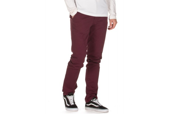 EMERSON CHINO PANTS 192.EM41.95-WINE Βordeaux