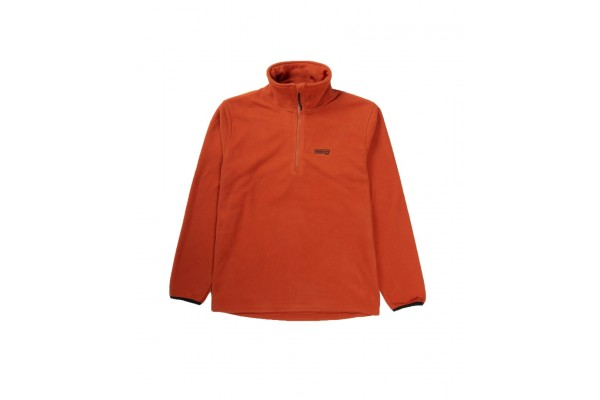 EMERSON HALF-ZIP POLAR FLEECE PULLOVER SWEATER 192.EM28.108A-CRANBERRY Βυσσινί