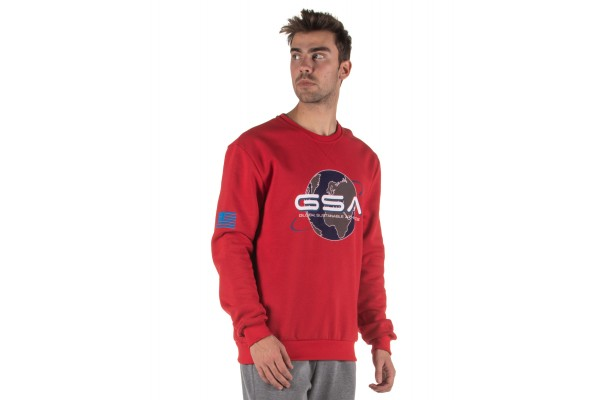 GSA EARTH CREW NECK 17-19202-47 RED Red