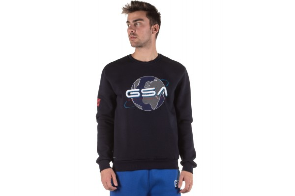 GSA EARTH CREW NECK 17-19202-03 INK Blue