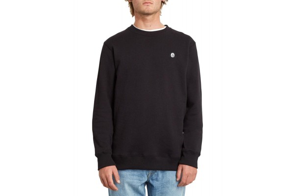 VOLCOM SINGLE STONE SWEATSHIRT A4632008-BLK Μαύρο