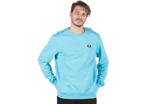 VOLCOM SINGLE STONE SWEATSHIRT A4632008-AQU Μπλε