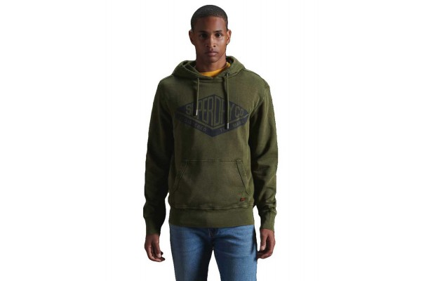 SUPERDRY COPPER LABEL HOOD M2010469A-3KS Χακί