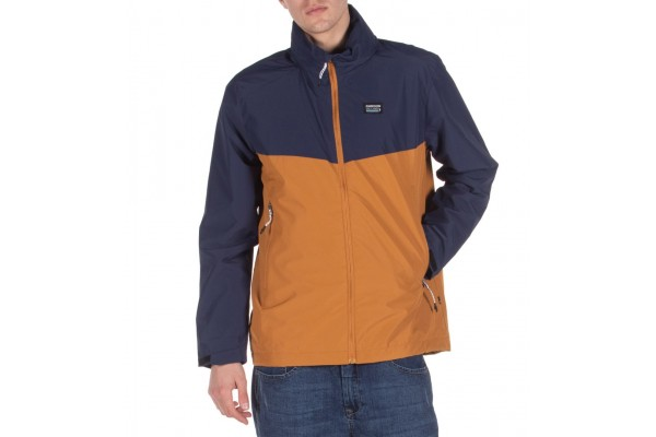 EMERSON ROLL-IN HOODED JACKET 201.EM10.12-RP COPPER/NAVY BLUE Mustard