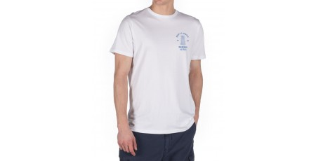 EMERSON PINEAPPLE GRAPHIC TEE 191.EM33.39-WHITE White