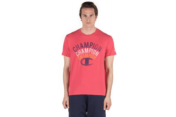 CHAMPION MEN'S T-SHIRT 214313-PS120 Red