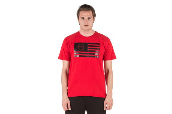GSA SUPERLOGO T-SHIRTCOLOR EDITION 17-19036-RED FLAG Red