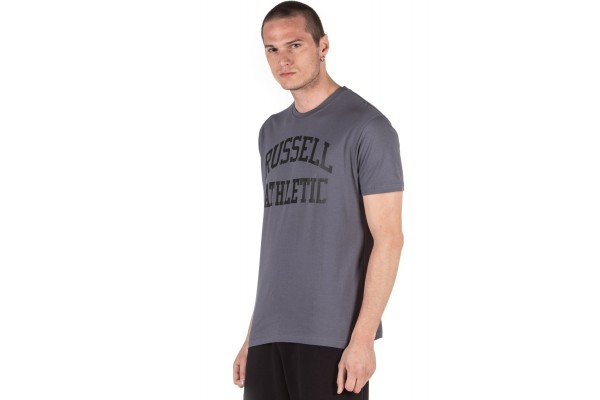 Russell Athletic MEN'S TEE A0-700-1-209 Coal