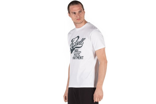 Russell Athletic MEN'S TEE A0-012-1-001 White
