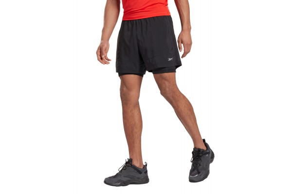 Reebok Sport RE 2-1 SHORT FT1061 Μαύρο