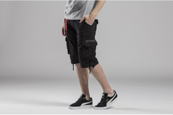 ALPHA INDUSTRIES JET SHORT 191200-03 Black