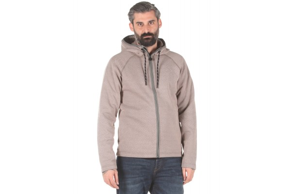 O'NEILL PM EPIDOTE FZ HOODED FLEECE 0P0212-8021 Grey