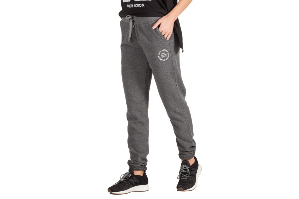 BODY ACTION WOMEN'S SWEATPANTS 021846-01-03B Grey