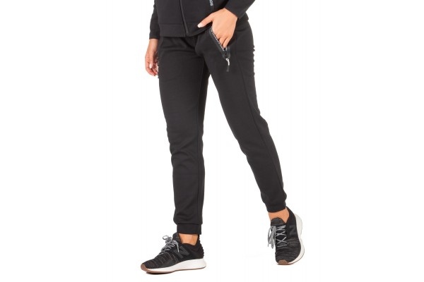 BODY ACTION GYM TECH JOGGERS 021951-01-01 Black