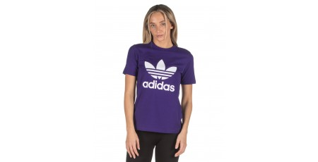 adidas Originals TREFOIL TEE ED7497 Purple