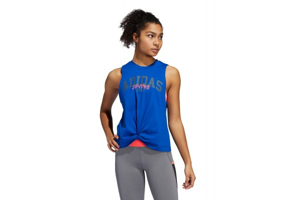 adidas Performance GRAPHIC TANK TOP GE0292 Ρουά