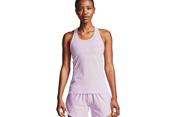 UNDER ARMOUR HG RACER TANK 1328962-570 Λιλά
