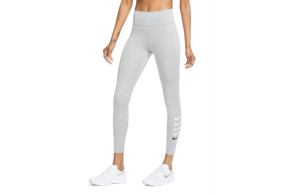 NIKE W NK SWOOSH RUN TIGHT 7/8 CU3116-073 Γκρί