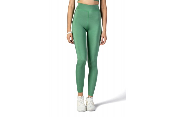 GSA SUMMER GLOW LEGGINGS PLAIN COLORS 17-2001-GREEN Πράσινο