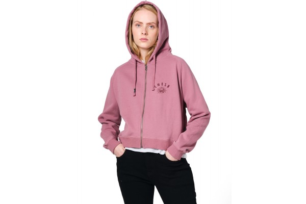 EMERSON KEEP IT SIMPLE ZIPPER HOODIE 202.EW21.43-DUSTY ROSE Ροζ