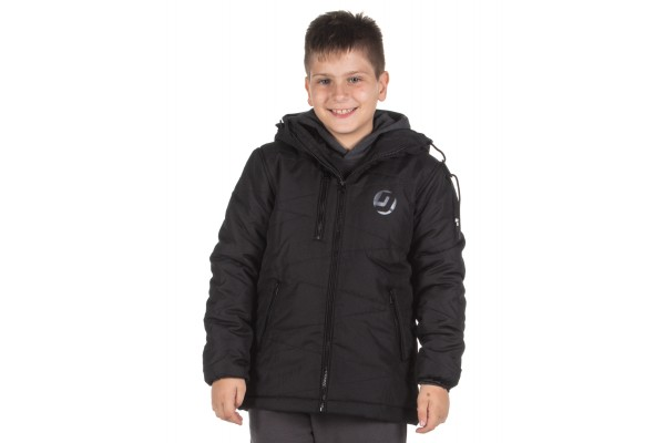 DISTRICT75 BOYS' JACKET 219KBJA-635 Black