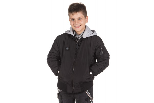 DISTRICT75 BOYS' JACKET 219KBJA-637 Black