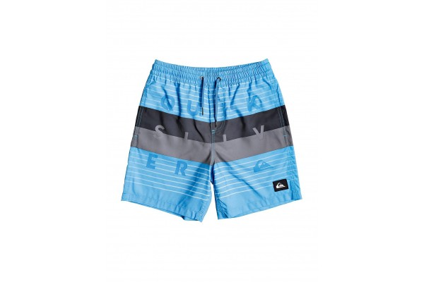 QUIKSILVER WORD BLOCK VOLLEY YOUTH 15 EQBJV03267-BMM6 Siel