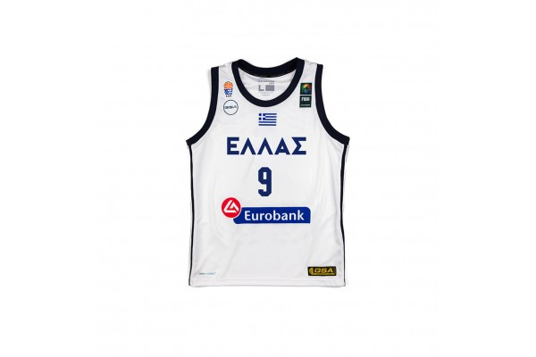 GSA GAME SHIRT OFFICIAL UNIFORM KID-9 BOUROUSIS 17-93065-WHITE Λευκό