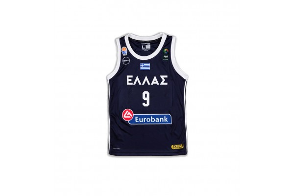 GSA GAME SHIRT OFFICIAL UNIFORM KID-9 BOUROUSIS 17-93065-INK Μπλε