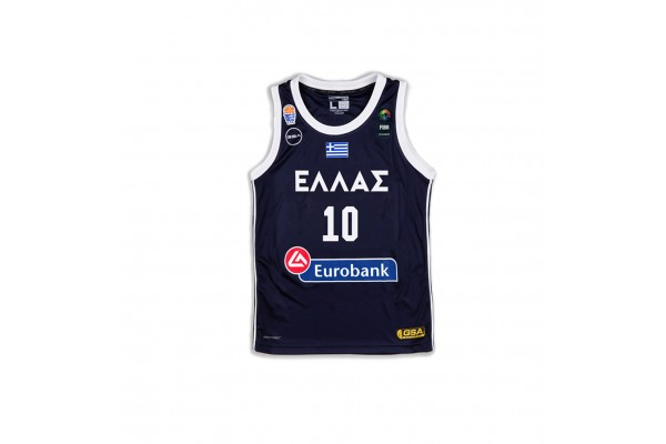 GSA GAME SHIRT OFFICIAL UNIFORM KID-10 SLOUKAS 17-93065-INK Μπλε