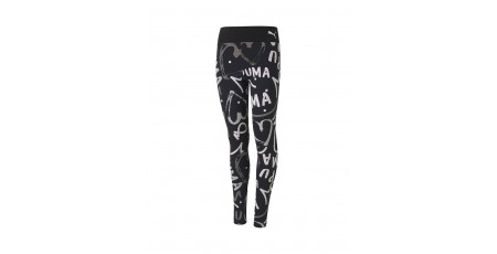 PUMA ALPHA AOP LEGGINGS 581404-01 Black