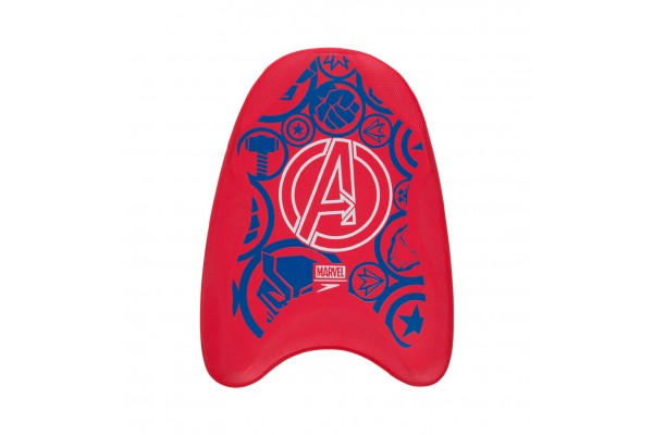 SPEEDO MARVEL PRINTED KICKBOARD 8-1173D275 Red