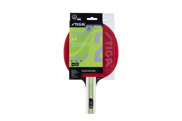 STIGA TRACK 2-STAR TABLE TENNIS BAT 1212-2017-37 One Color
