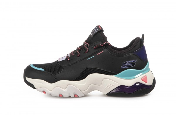 SKECHERS D'LITES 3.0 AIR 149086-BKMT Μαύρο