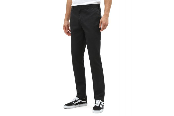 DICKIES 872 SLIM FIT WORK PANT DK0WE872BLK1-BLACK Black
