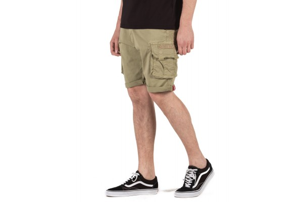 ALPHA INDUSTRIES CARGO SHORTS 176203-82 OLIVE
